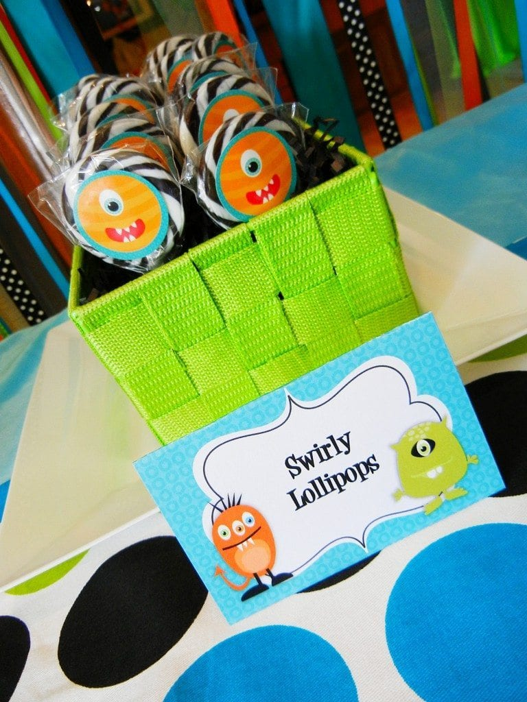 Monster Birthday Party Ideas