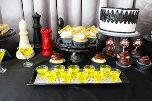 He's Aged to Perfection | James Bond Birthday Party Jello Shots