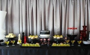 He's Aged to Perfection | James Bond Birthday Party - Desserts and Cake