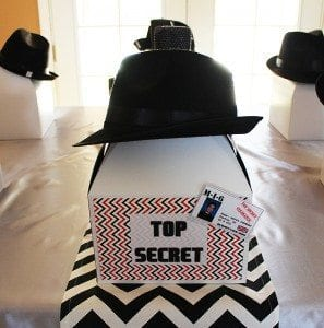 He's Aged to Perfection | James Bond Birthday Party Favor Boxes