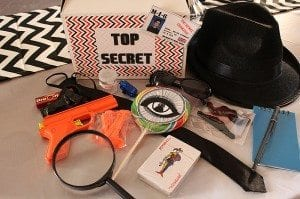 He's Aged to Perfection | James Bond Birthday Party Favors