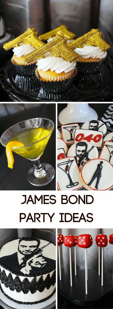James Bond Party Ideas