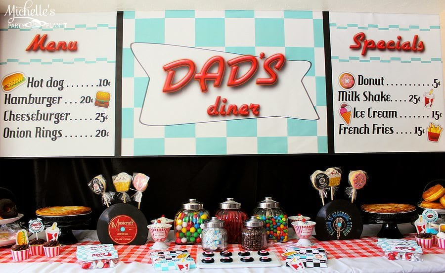 Dads Diner Fabulous 50s Fathers Day Celebration