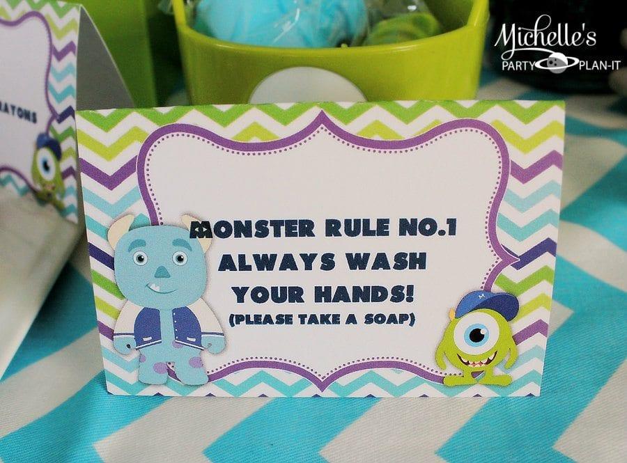 Monsters University Party Favors