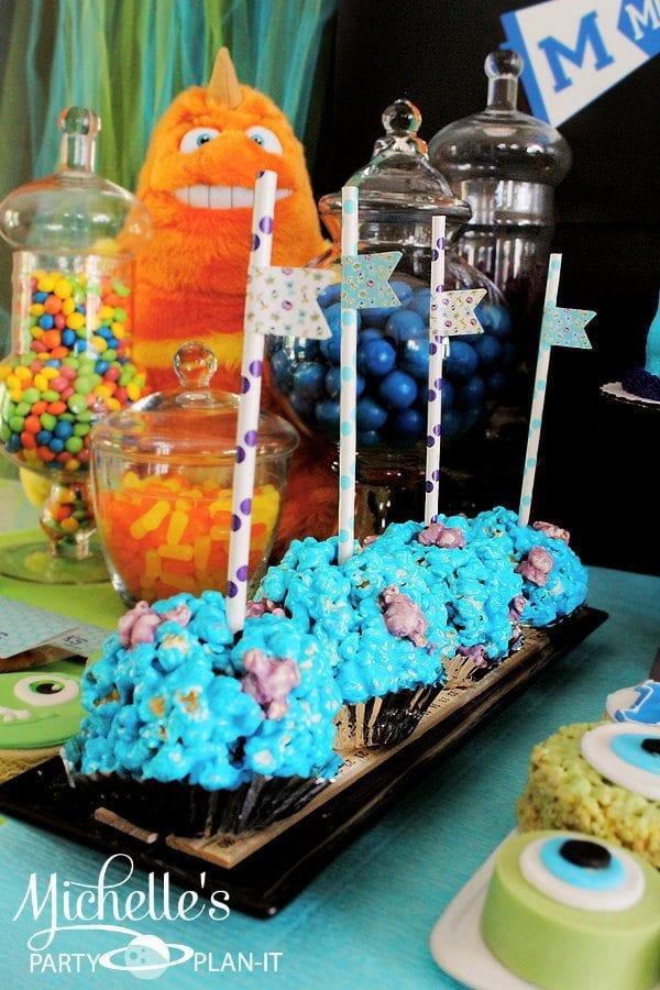 Monsters University Birthday Party Ideas