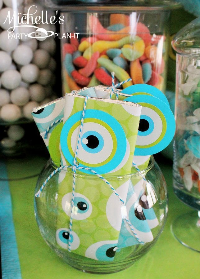 Monsters University Candy Bars