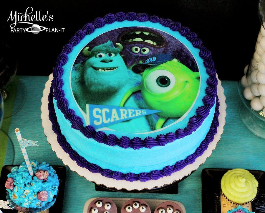 Monsters University Birthday Cake