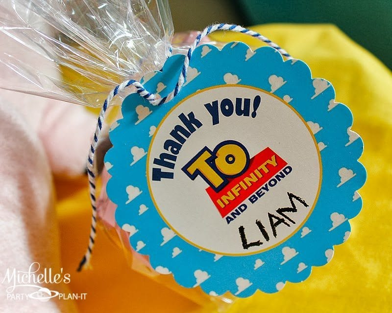 toy story party tags