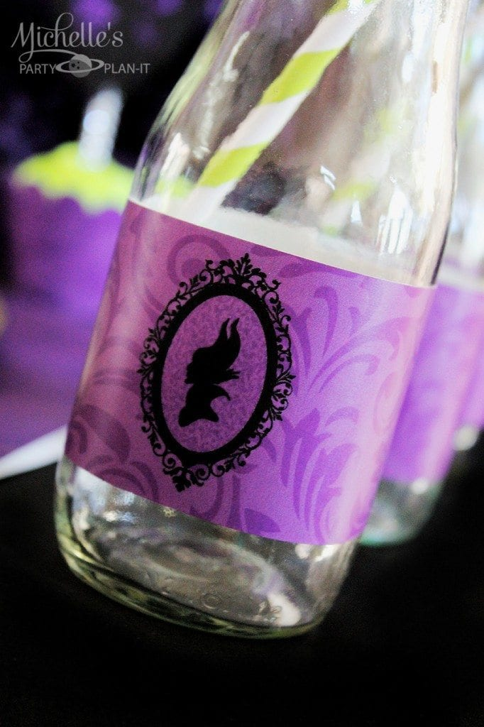 Maleficent Party Ideas - Maleficent drinkware