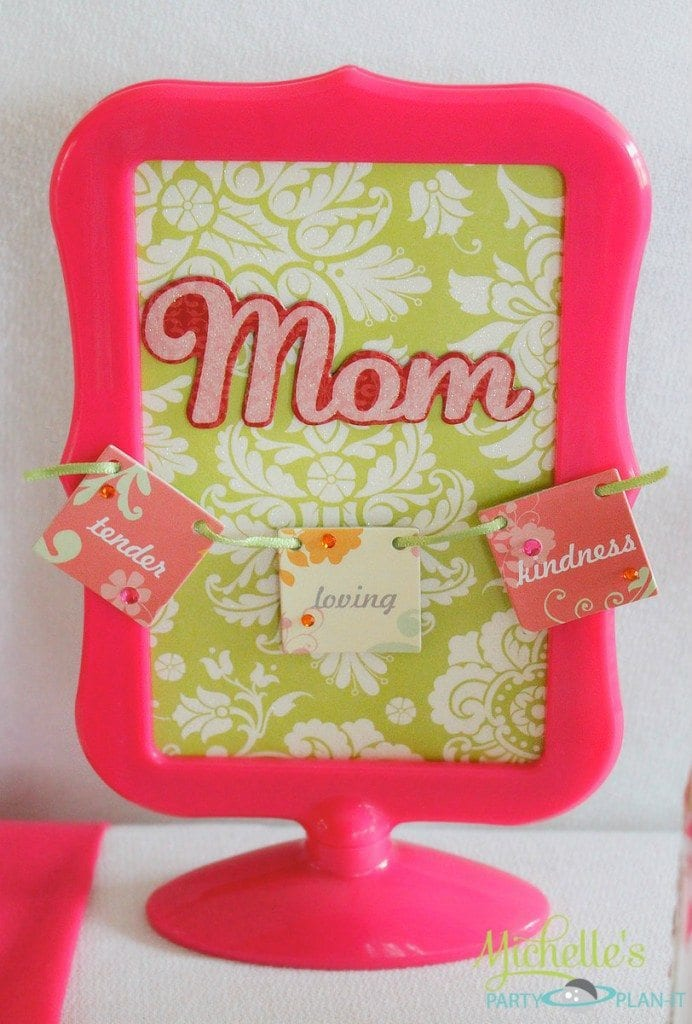 Mother's Day scrap-book