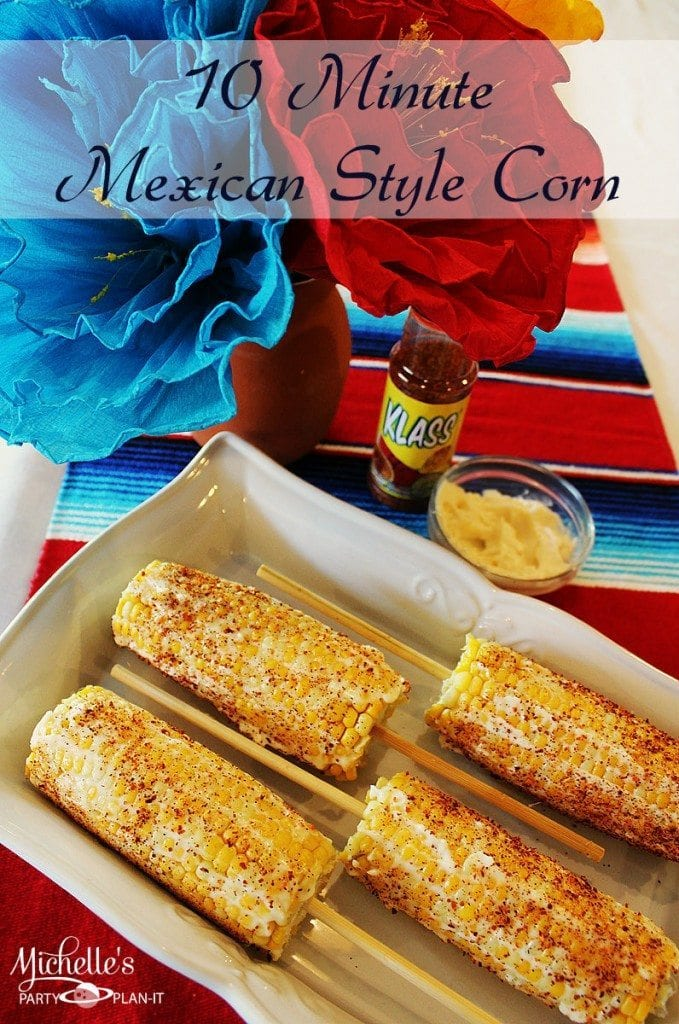 10 minute mexican style corn on the cob