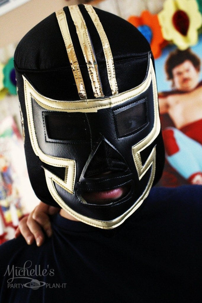 Nacho Libre Party Wrestler Masks