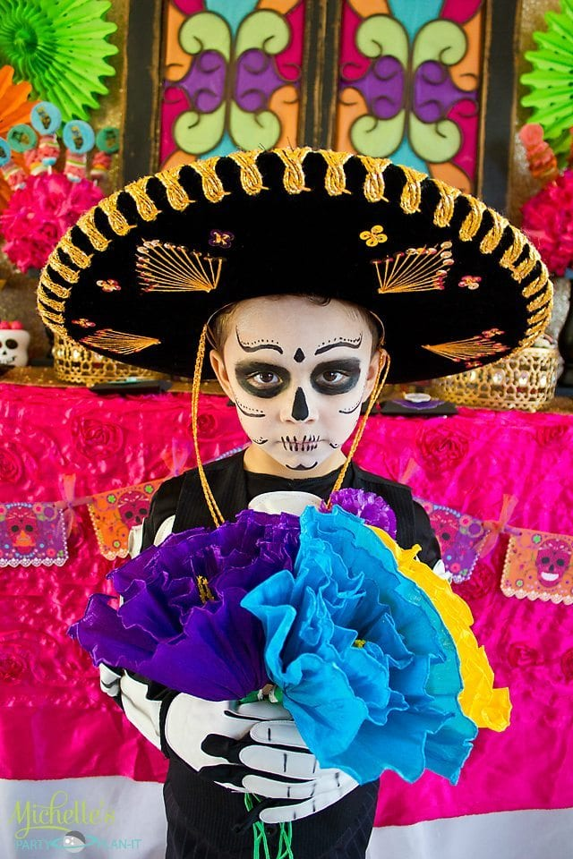 Day of the Dead Party - Costume