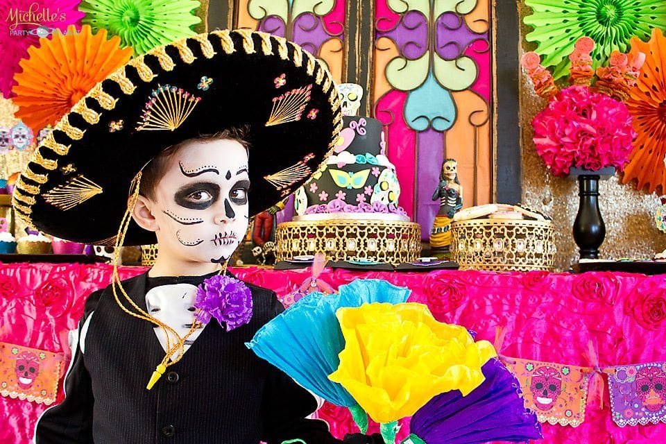 Dia de los Muertos Party Ideas