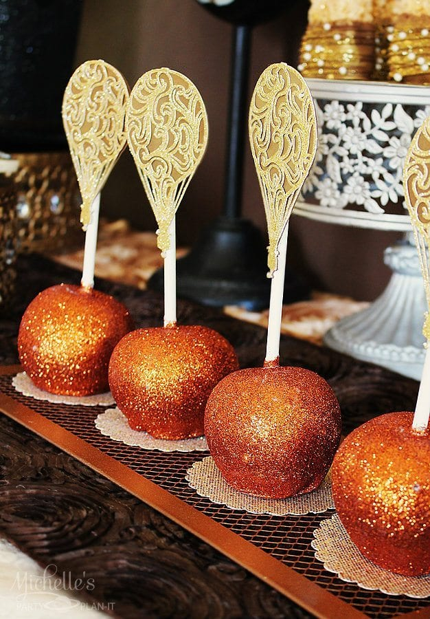 Steampunk Candy Apples