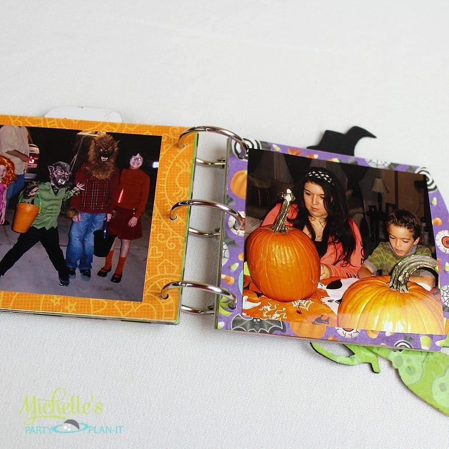 halloween photo album