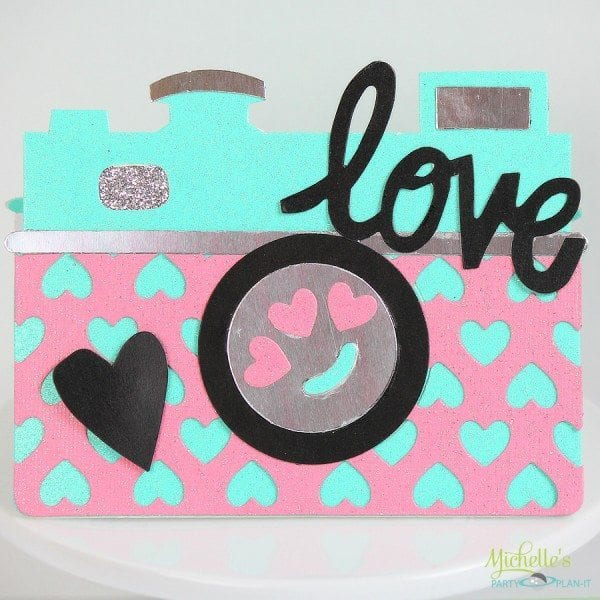 You Have Captured My Heart | Sizzix Valentine Card