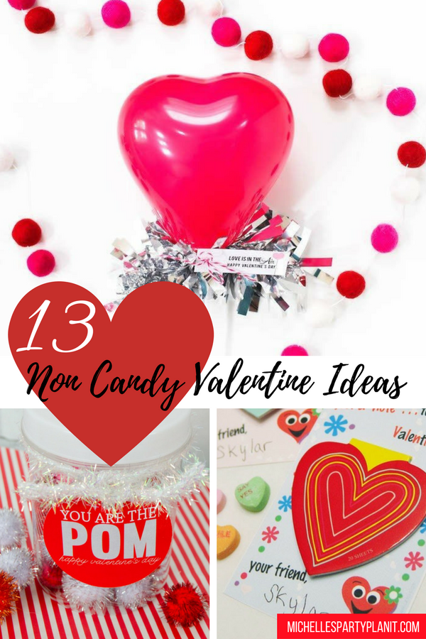 13 Non Candy Valentine Ideas
