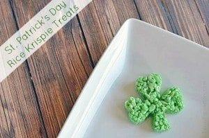 Shamrock Rice Krisipes