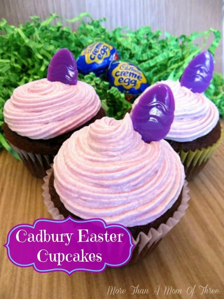 cadbury easter cupcakes