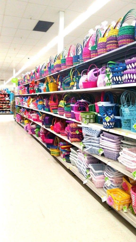 Disney Easter Baskets at Wal-Mart
