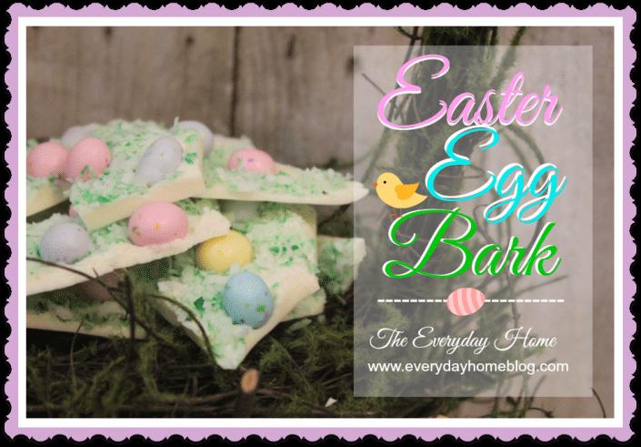 easter egg bark candy