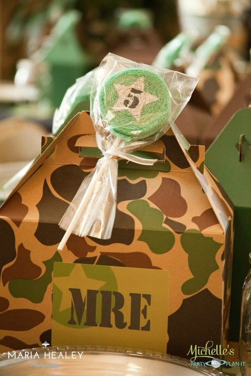 Army Party Favor Boxes