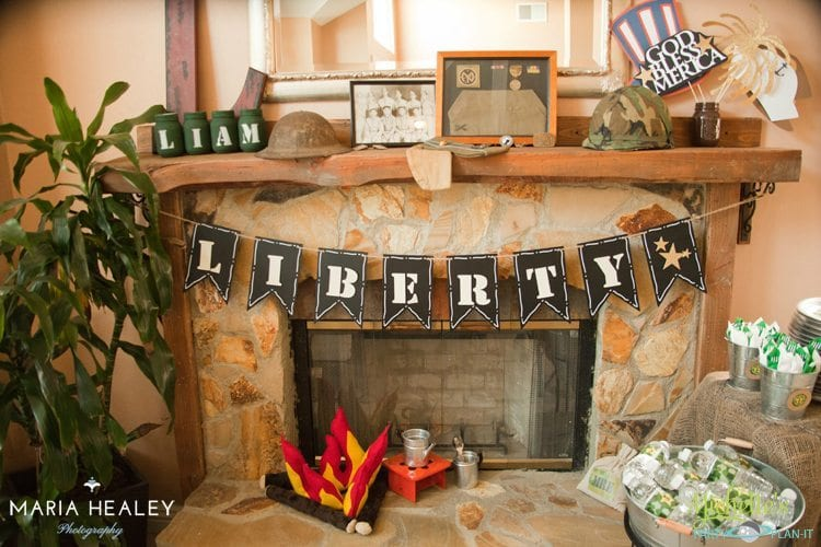 Army Party Decorations