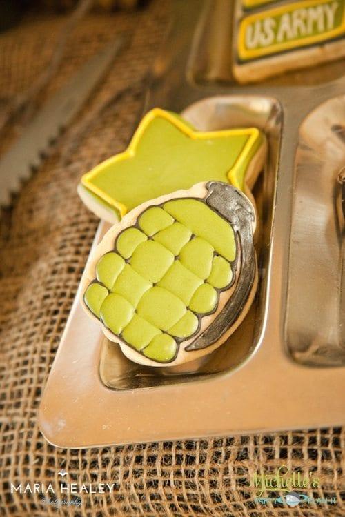 Grenade Cookie