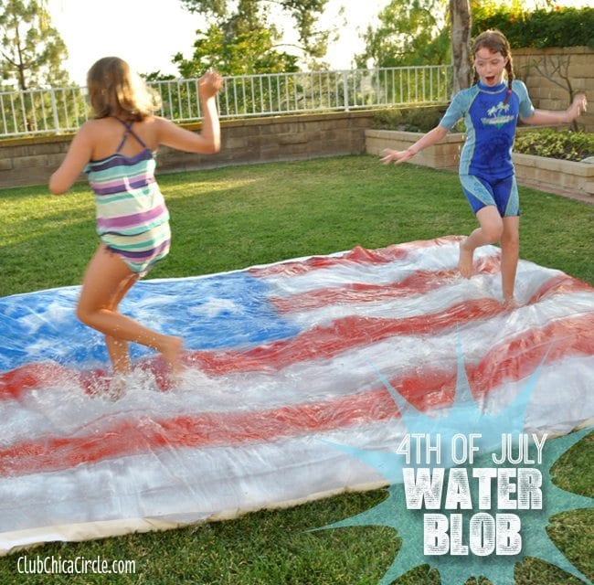 4th of July Water Blob