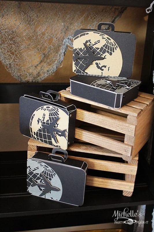 Suitcase Favor Boxes | Sizzix Tutorial
