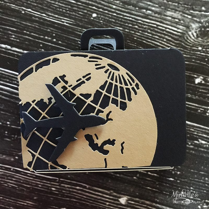 Adventurer Suitcase Favor Box