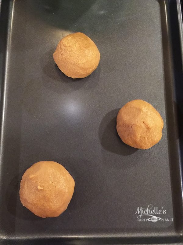 Easy Fossil Peanut Butter Cookies