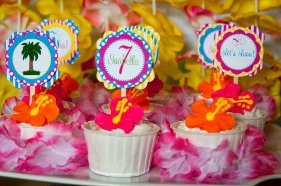 Tiki Hut Luau Party