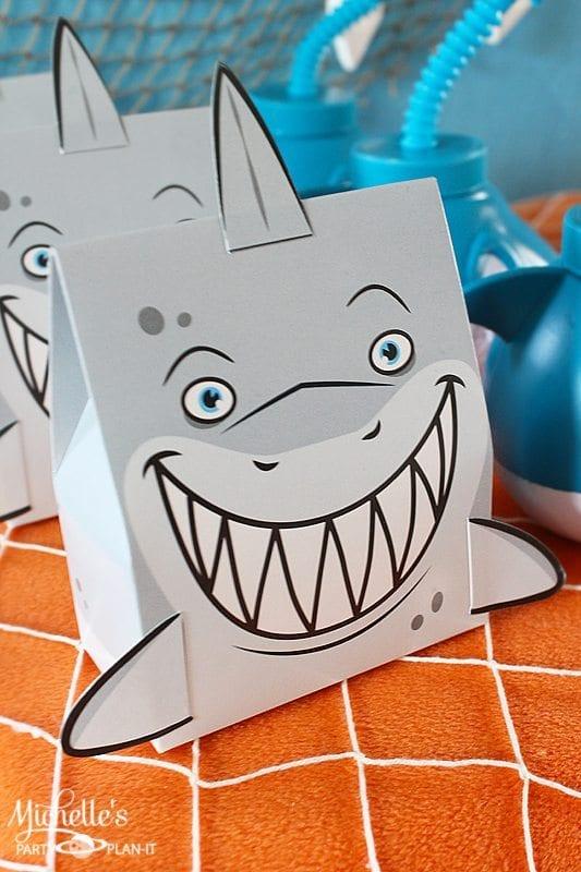 Shark Treat Boxes