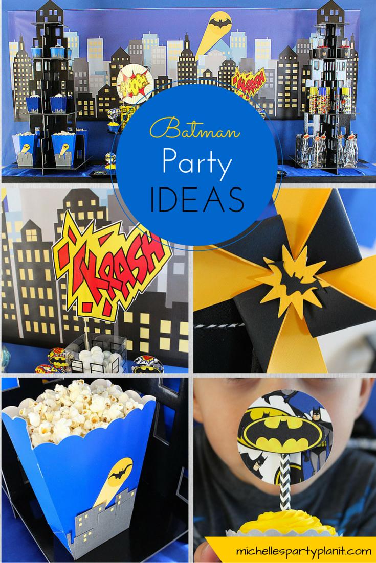Batman Party Ideas Michelle S Party Plan It