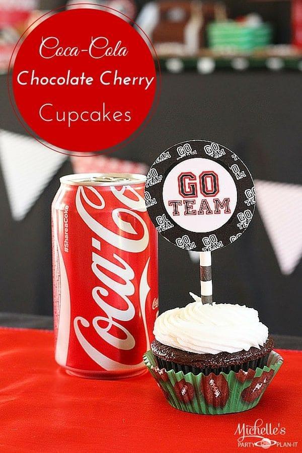 Coca-Cola Chocolate Cherry Cupcakes Recipe