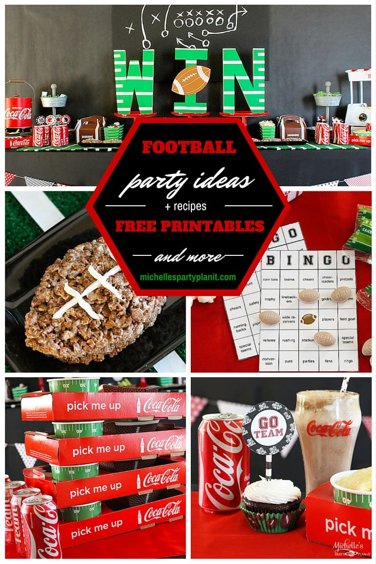Football Party Ideas and Tailgating Tips | Free Printables