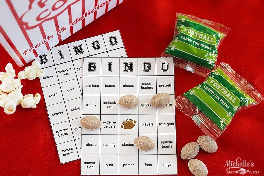 Free football bingo