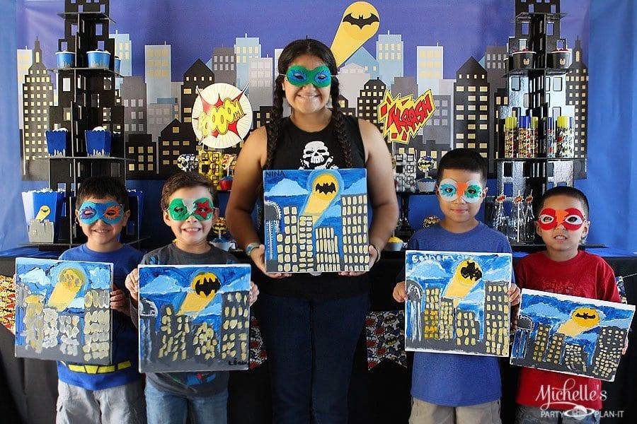 Batman Art Party