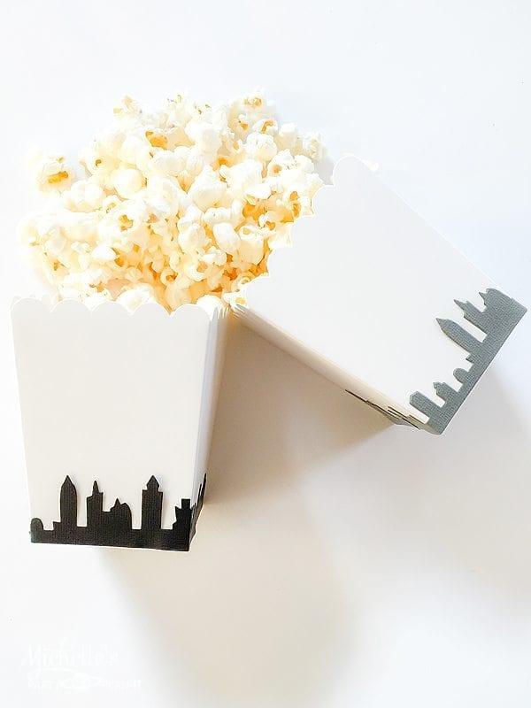 Big City Popcorn Box