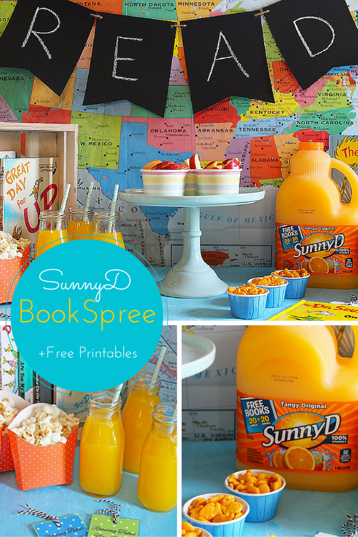 Create a Reading and Snack Table with SunnyD