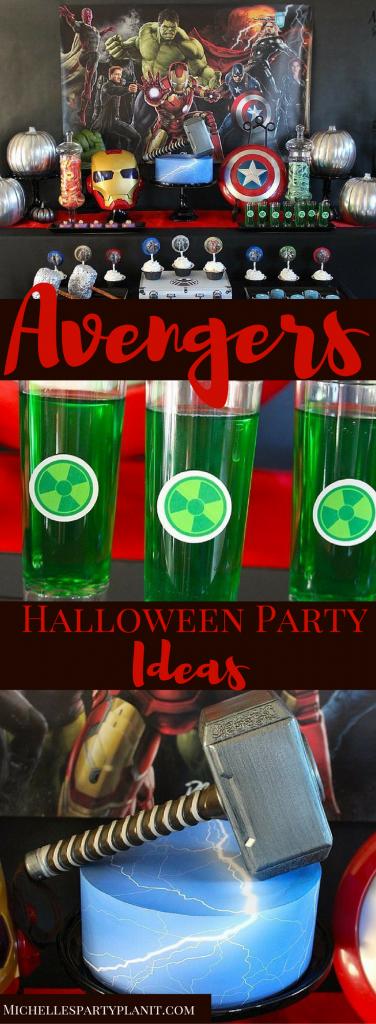 Avengers Halloween Party Ideas