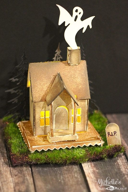 How To Make A Haunted House Tealight Display Michelle 39 S