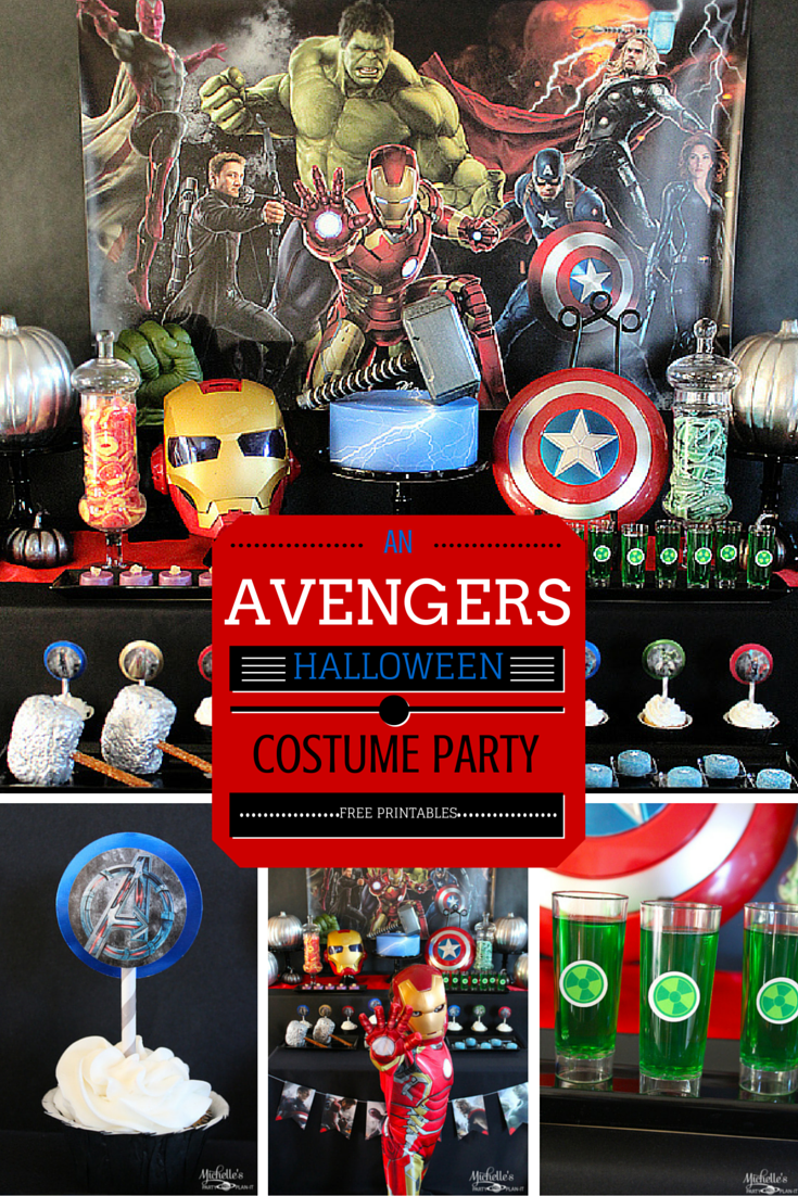 How to Plan a Halloween Avengers Costume Party