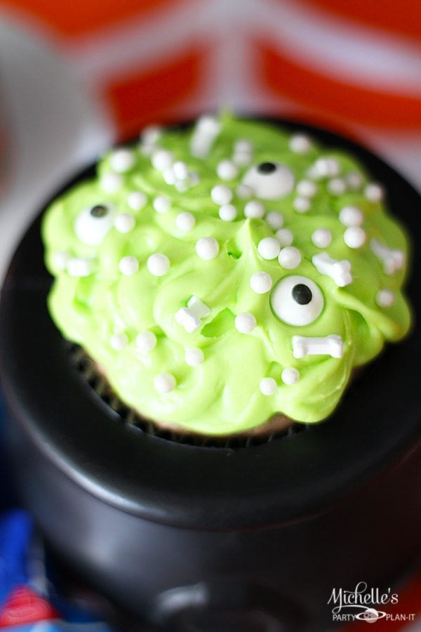 Witches Cauldron Cupcakes