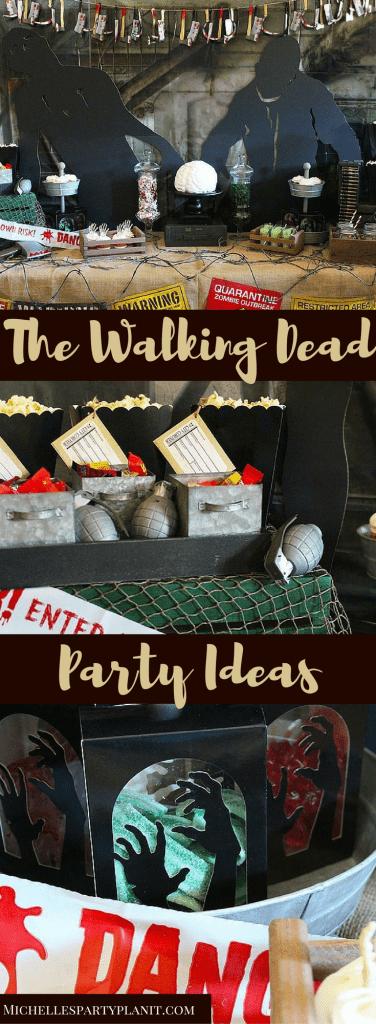 The Walking Dead Party Ideas