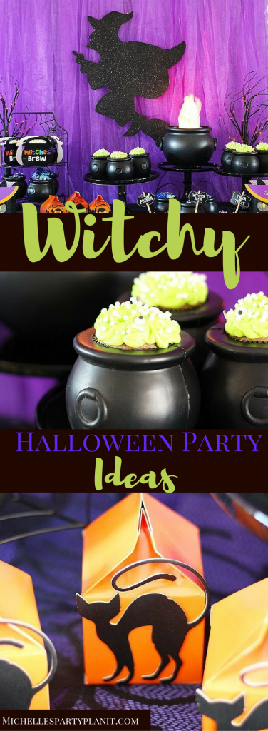 Witchy Halloween Party Ideas