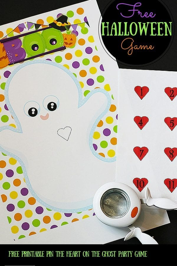 Free Printable Halloween Party Game