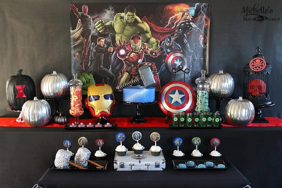 Avengers Halloween Party